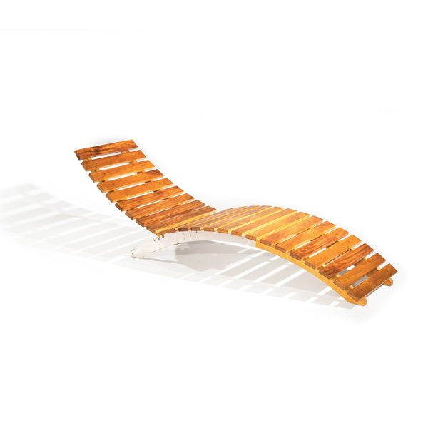 African Patio CROCODILE SUN LOUNGER