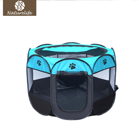 Breathable and Waterproof Dog House and Play Pen