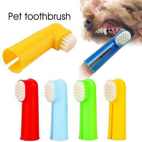 Pet Finger Toothbrush Dog Brush