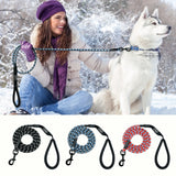 Nylon Reflective Dog Leash For Small Medium Large Dogs