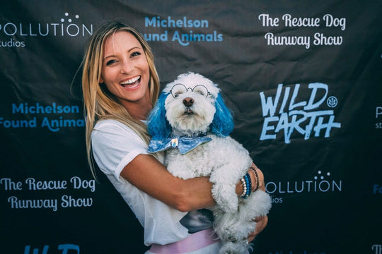 Wild Earth's Rescue Dog Runway Launch Party!