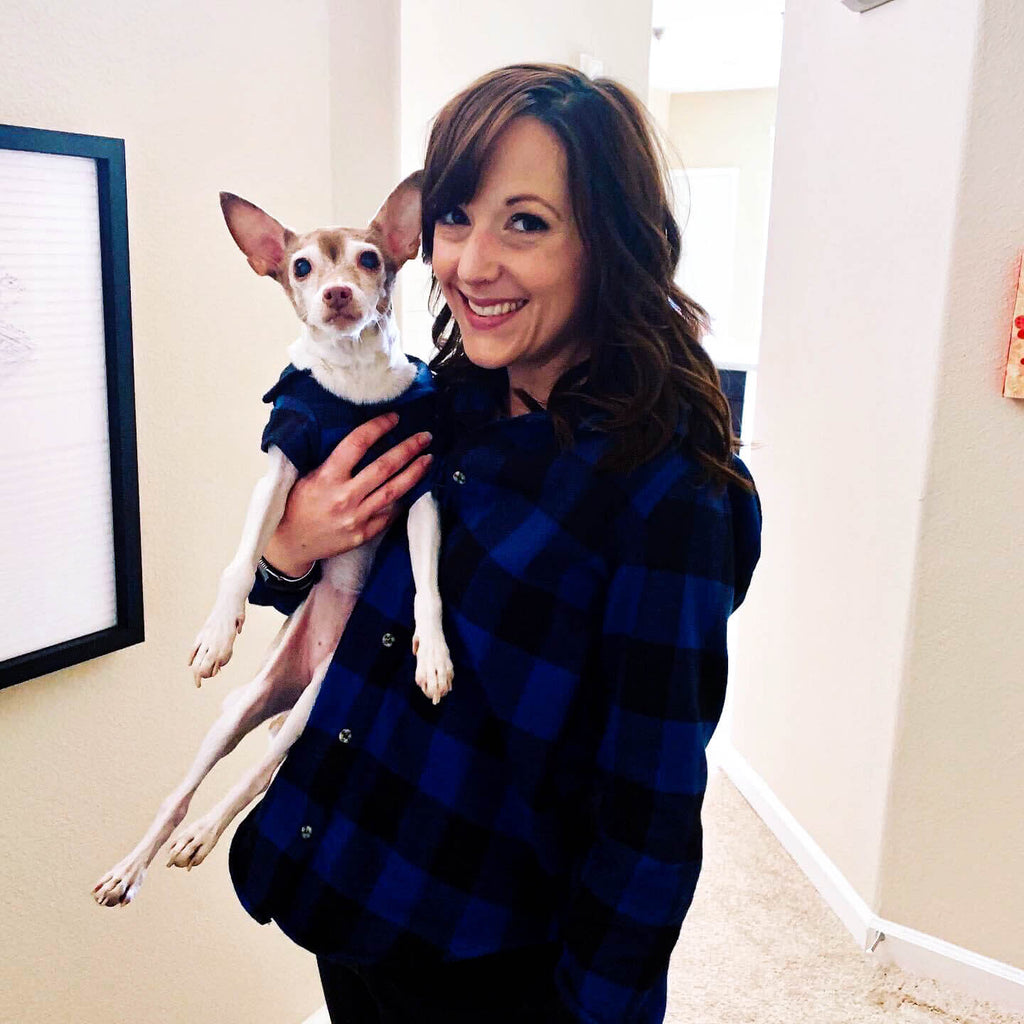 Jenna and her dog