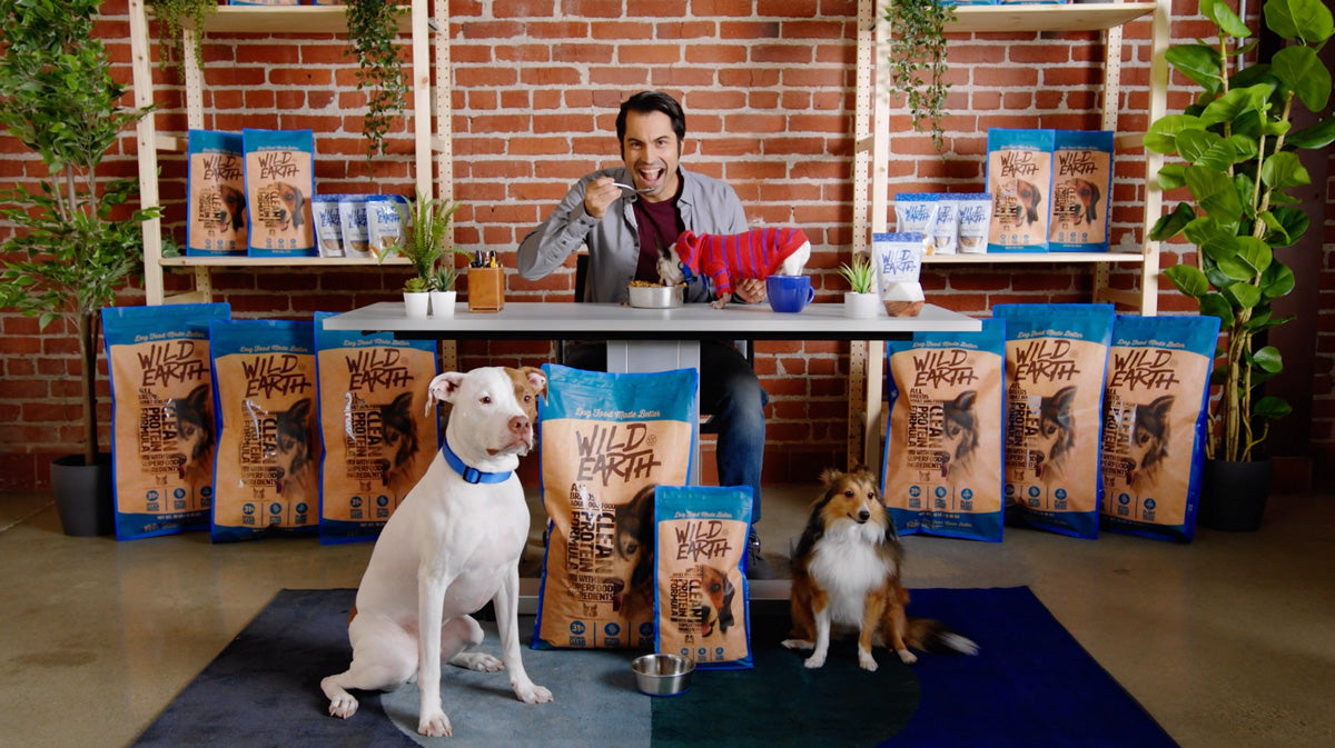 This is our CEO, Ryan. And this is how much he believes in our dog food...