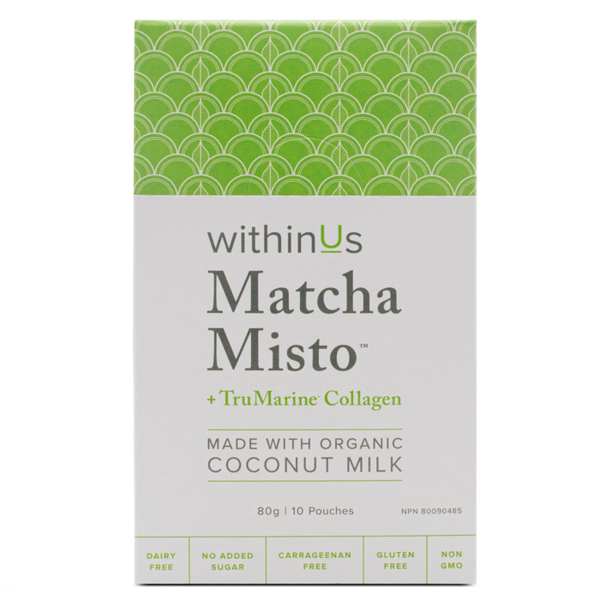 Matcha Misto & TruMarine™ Collagen - On The Go!