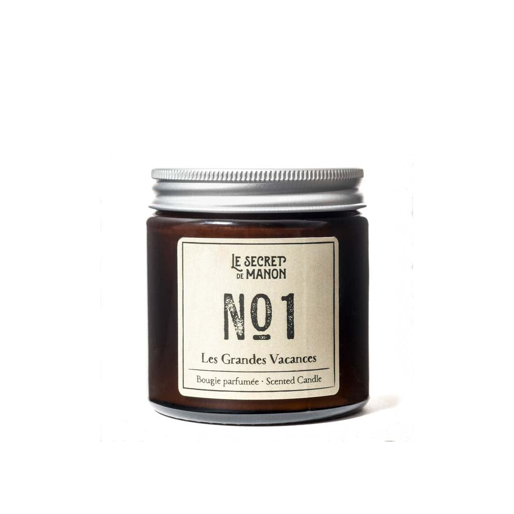 Les Grandes Vacances Scented Candle (Amber, 30 hrs)