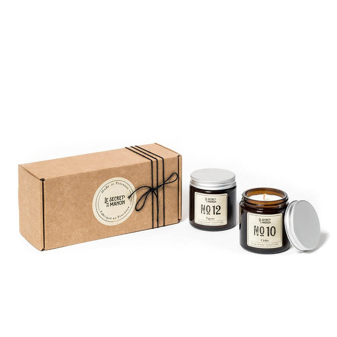 Two Candles in a Box (Gift Set)