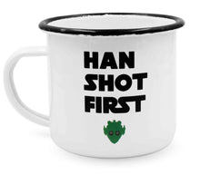 "Laden Sie das Bild in den Galerie-Viewer, heyholi® Enamel Cup ""Han First"""
