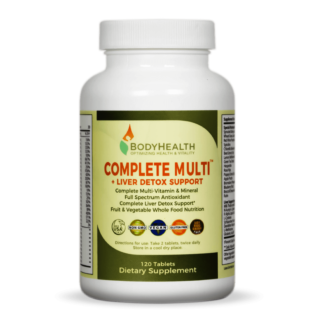 Multi-Vitamin and Liver Detox Support