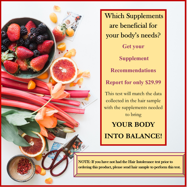 Body Health Supplement Report