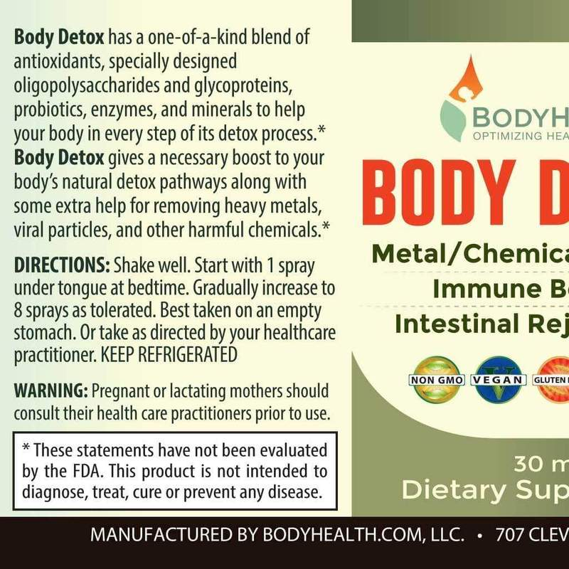 Body Detox - Oral Spray