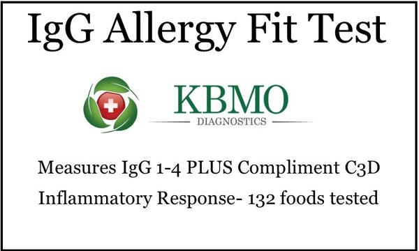IgG Food Allergy Blood Spot Test