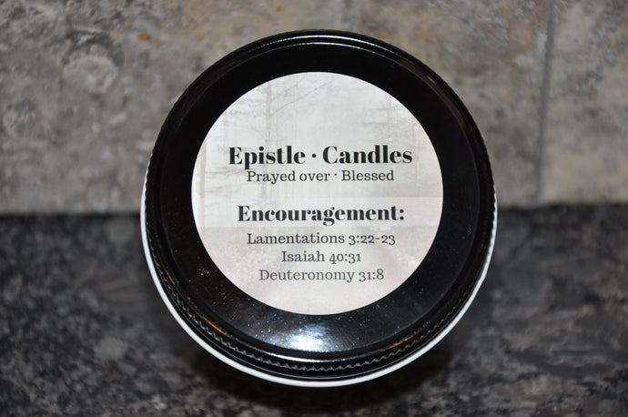 Encouragement 3 oz candle
