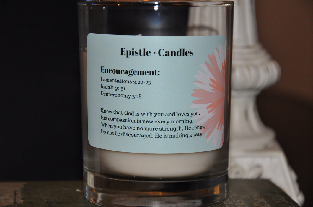 Encouragement 9 oz candle