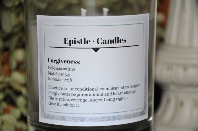 Forgiveness 9 oz candle
