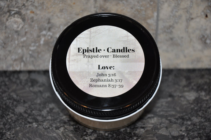 Love 3 oz candle