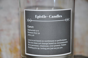 Love 9 oz candle