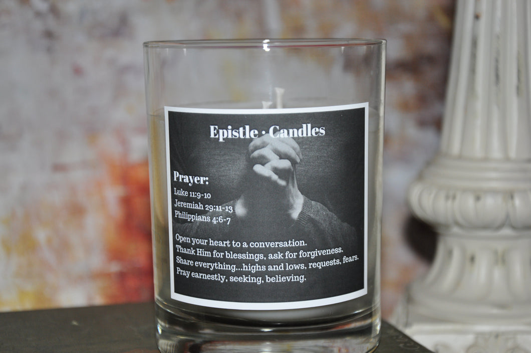 Prayer 9 oz candle