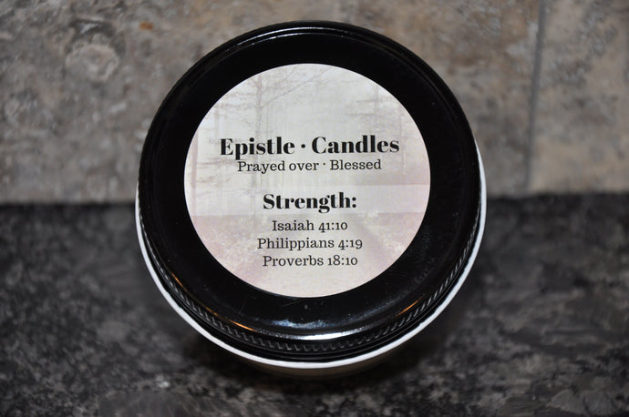 Strength 3 oz candle