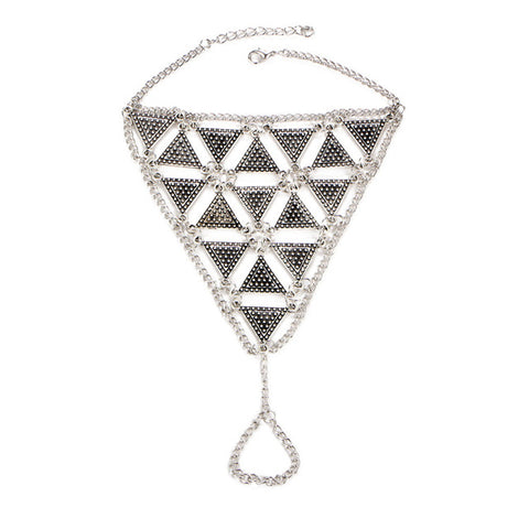 Style Triangle Anklet
