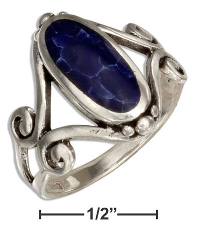 Simulated Sodalite Ring