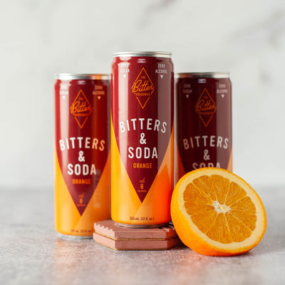 Orange Bitters & Soda