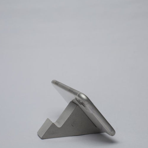 Concrete phone/mobile Stand - thecrio