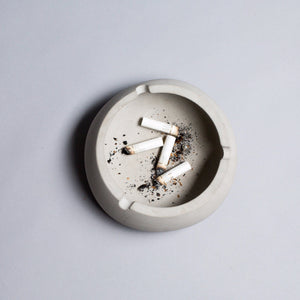 Concrete Ashtray - Bowlsy - thecrio