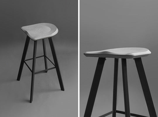 Concrete Bar Stools - Crio