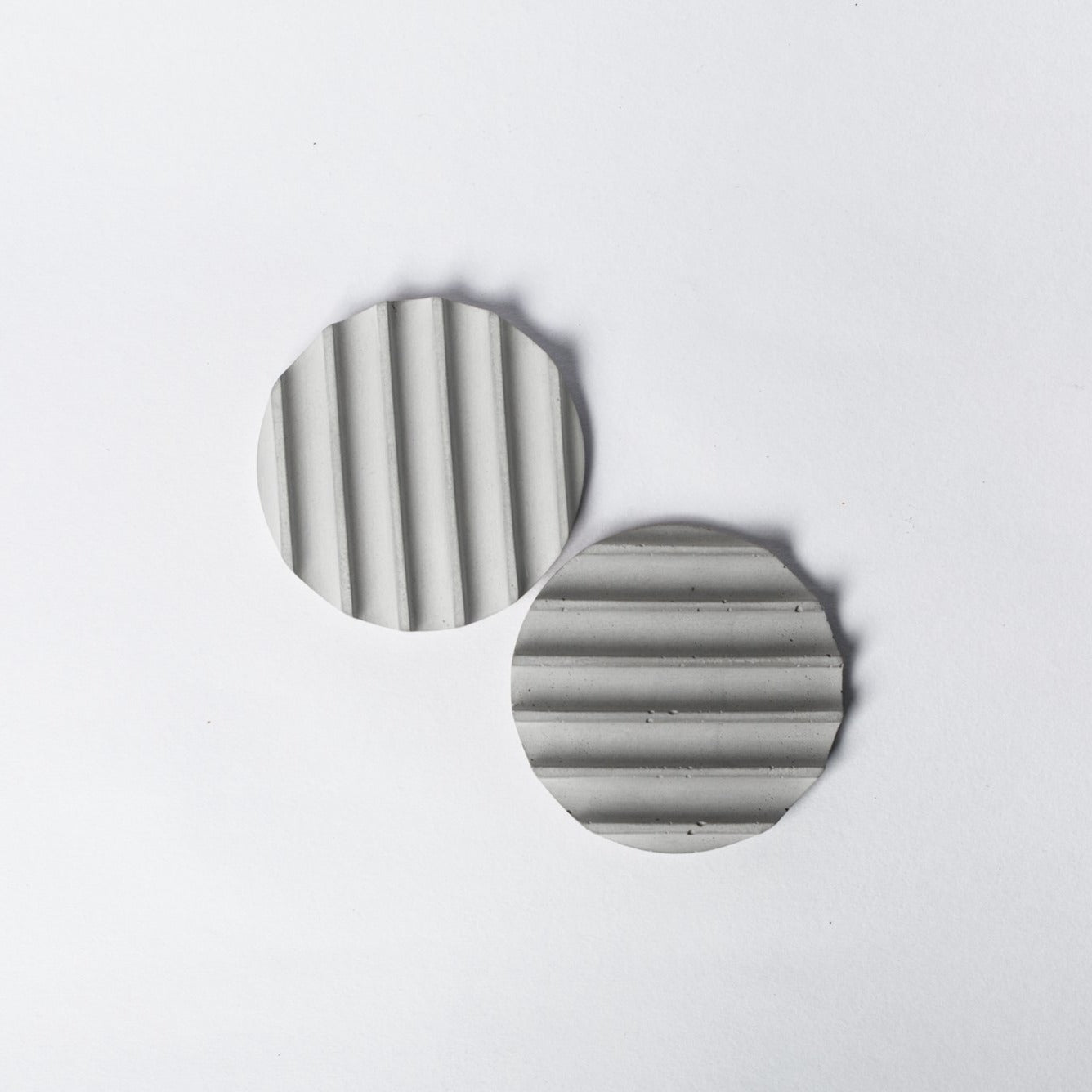 Concrete Coasters Set of 2 - thecrio