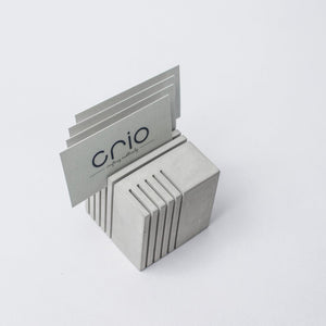 Concrete Cube Card holder and paper weight - thecrio