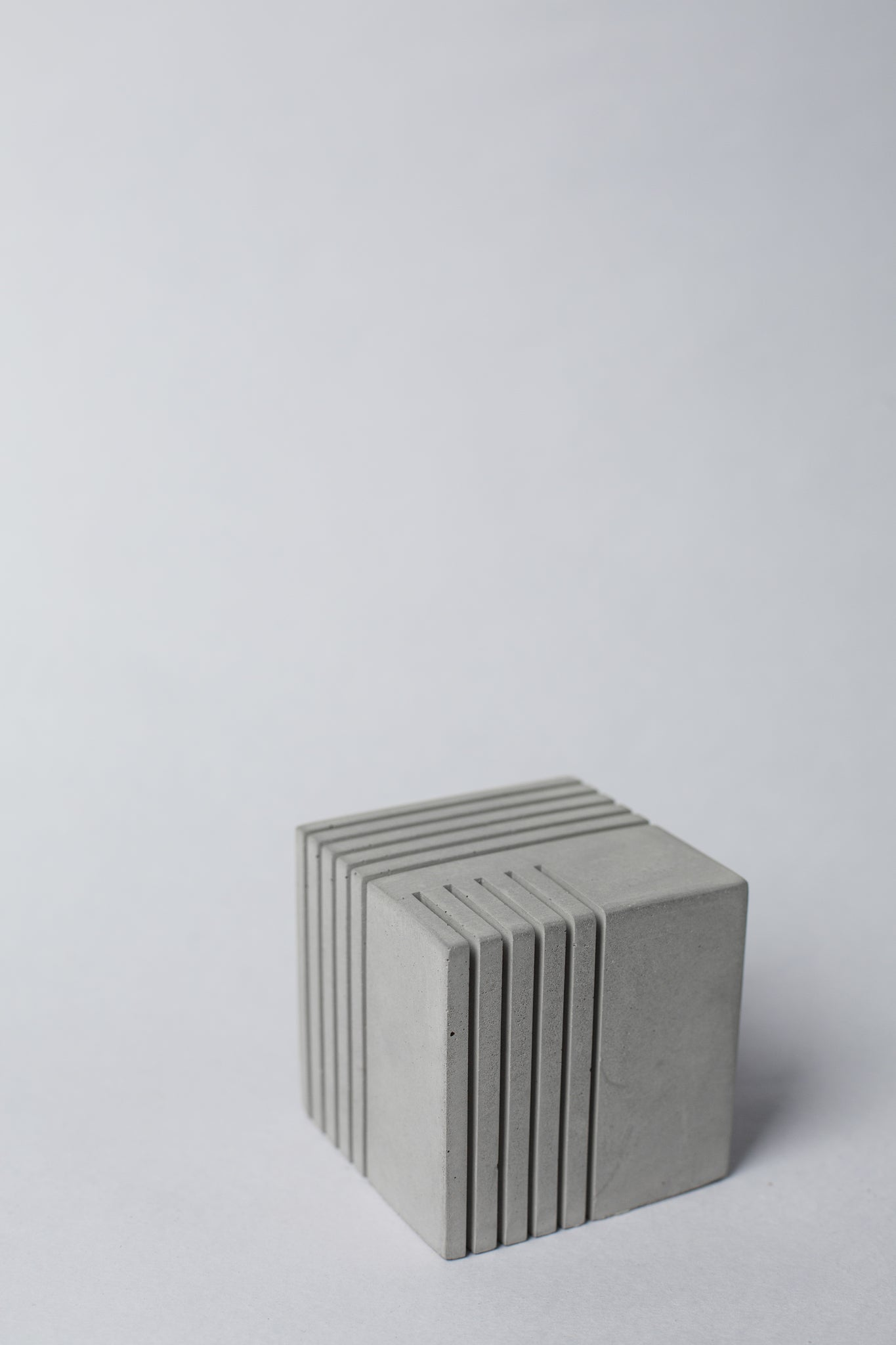 Concrete Cube Card holder and paper weight - Crio