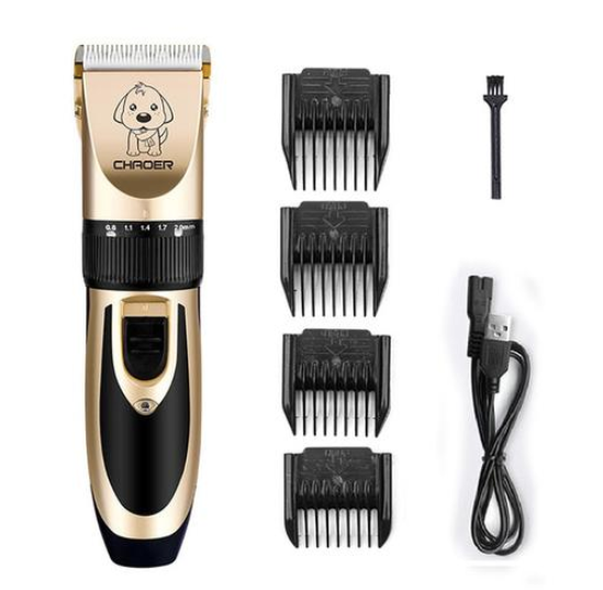 LOW NOISE PET HAIR CLIPPER - SAFELY TRIMS