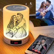 Load image into Gallery viewer, Bluetooth - Personalized Photo Music Night Light
