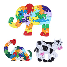 Load image into Gallery viewer, Wooden 3D Jigsaw Educational Toys