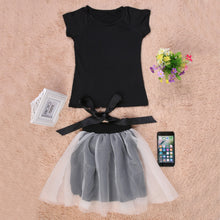Load image into Gallery viewer, Sleeve Top and Pants Skirt Casual style