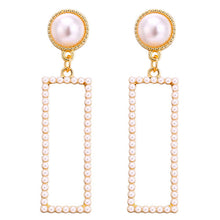 Load image into Gallery viewer, Jewelry Simulated Pearl Long Earrings