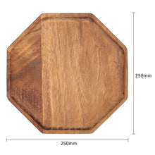 Load image into Gallery viewer, Acacia Wood Plate Dishes Rectangle