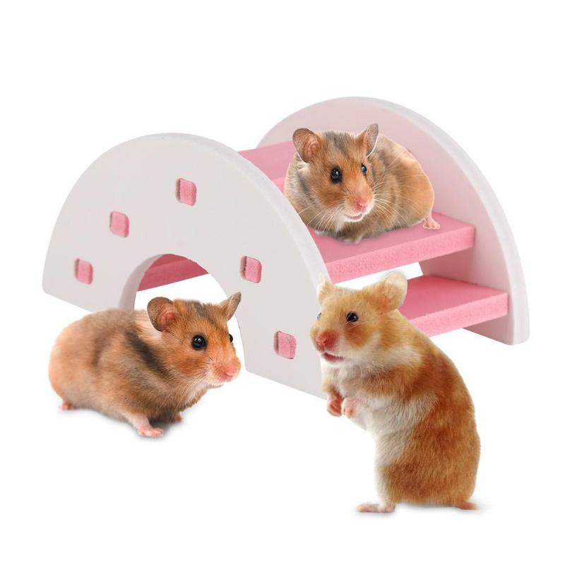 Wood Hamster Bridge Toy