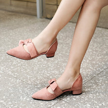 Load image into Gallery viewer, Solid Pointed Toe Ladies Party Shoes