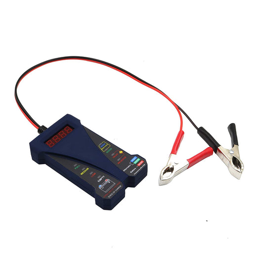 MP0514B 12V Digital Battery Tester -Bark Blue
