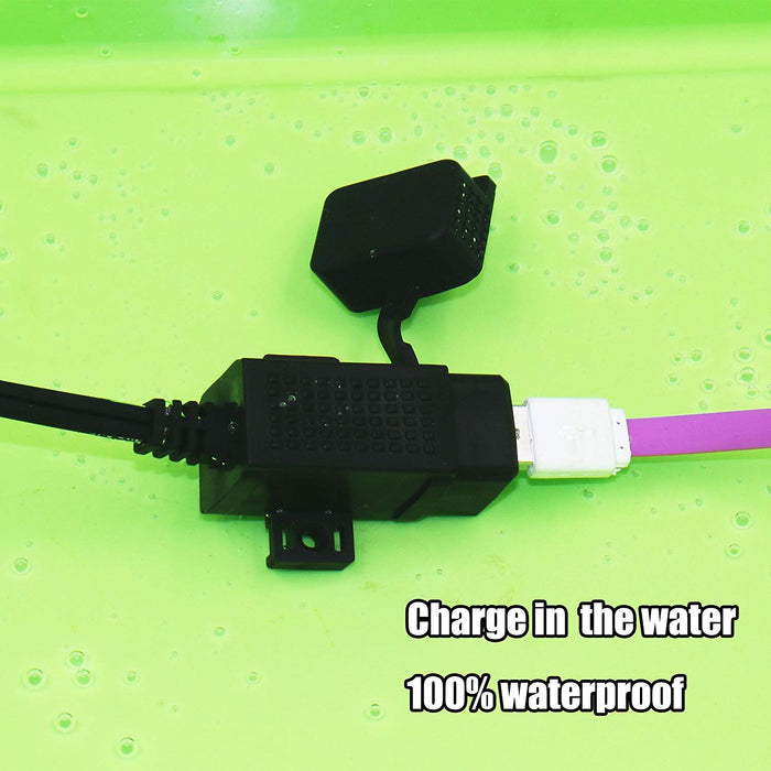 MP0609C 3.1Amp Waterproof Dual USB Charger