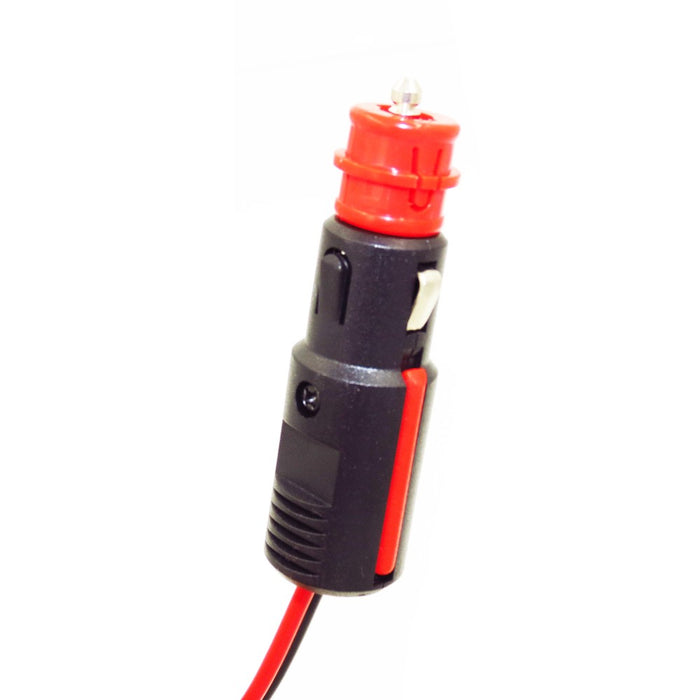 MP69014A  Dual Size Cigarette Lighter Plug to SAE Cable