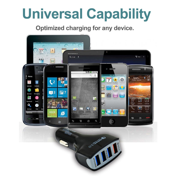 MP69041 Rapid USB Car Charge 4 Ports