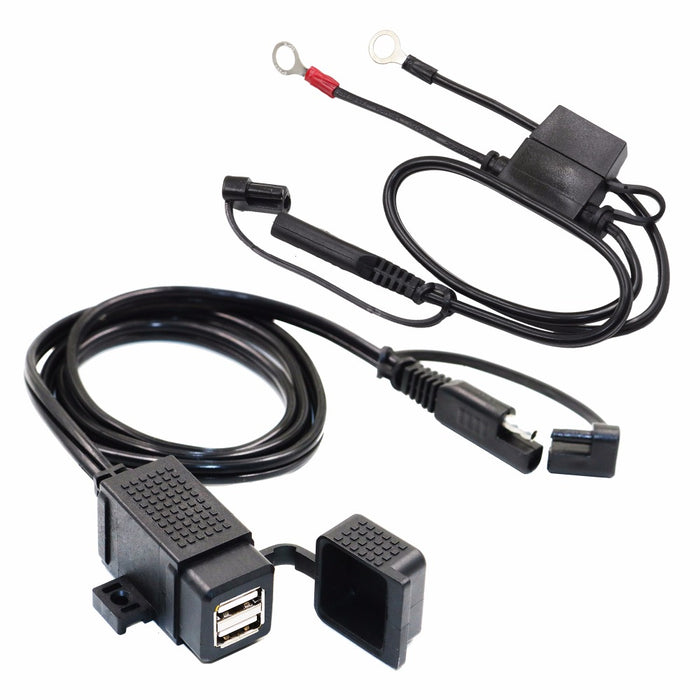 MP0609EA 3.1Amp Waterproof Dual USB Charger Kit