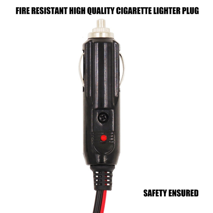 MP68996A Cigarette lighter plug to SAE cable