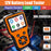 MOTOPOWER MP0515A 12V Car Battery Tester Automotive 100-2000 CCA Battery Load Tester Auto Cranking and Charging System Test Scan Tool Digital Battery Alternator Analyzer