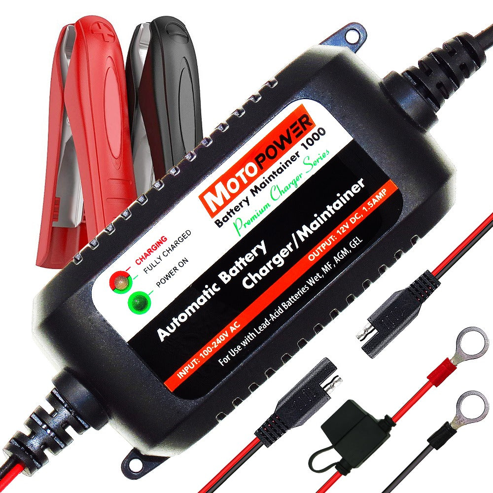 MP00206A 12V 1.5A Fully Smart Battery Charger