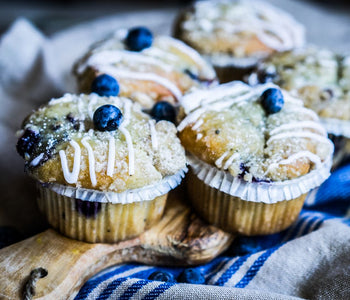 Low Carb Lemon Blueberry Muffins Recipe