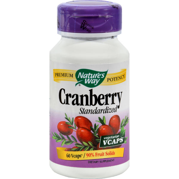 Nature's Way Cranberry Standardized - 60 Vcaps