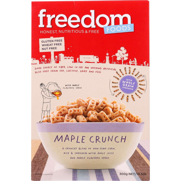 Freedom Foods Cereal - Maple Crunch - Gluten Free - 10.6 Oz - Case Of 5